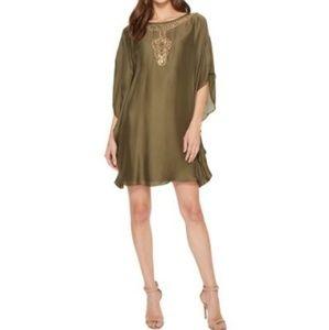 Trina Turk Anissa Georgette Sheer Tunic Dress